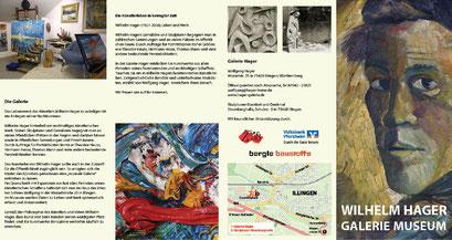 Info-Folder für Wilhelm Hager, Illingen