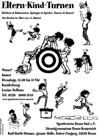 Poster für Louise Belloso, Bonn