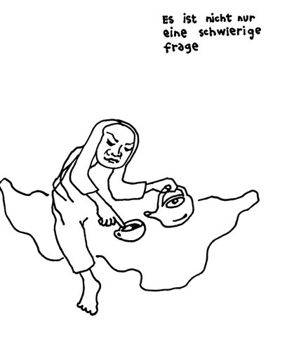 opferscheiss, arbeitsbegleitende gedankenskizze, copyright chantal labinski 2013