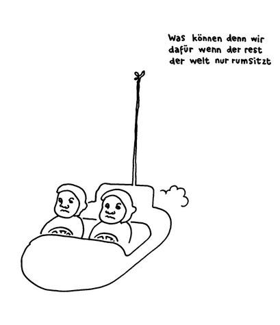rest der welt rumsitzer, arbeitsbegleitende gedankenskizze, copyright chantal labinski 2013
