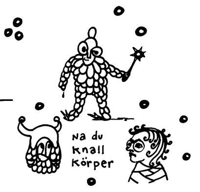 knall koerper, arbeitsbegleitende gedankenskizze, copyright chantal labinski 2013