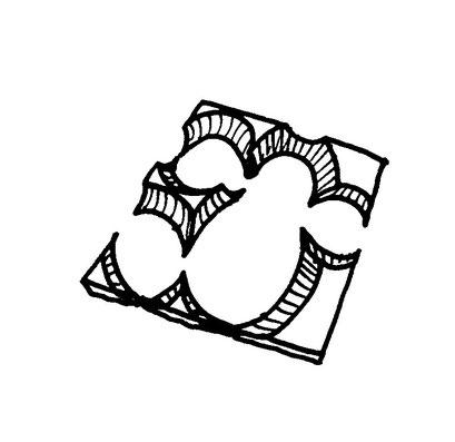 model, arbeitsbegleitende gedankenskizze, copyright chantal labinski 2013