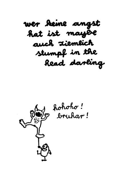 no angst, arbeitsbegleitende gedankenskizze, copyright chantal labinski 2013