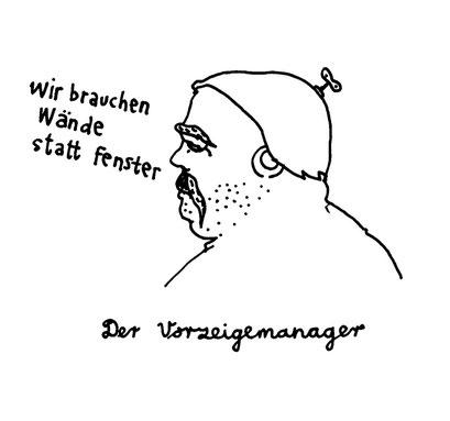 manager, arbeitsbegleitende gedankenskizze, copyright chantal labinski 2013
