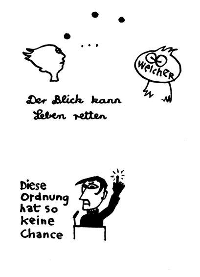 ohne chance, arbeitsbegleitende gedankenskizze, copyright chantal labinski 2013