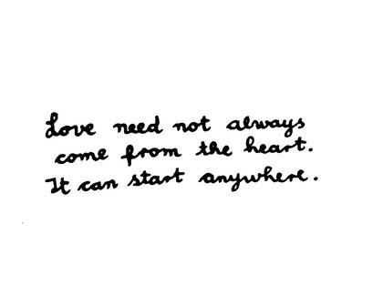 love can start anywhere, arbeitsbegleitende gedankenskizze, copyright chantal labinski 2013