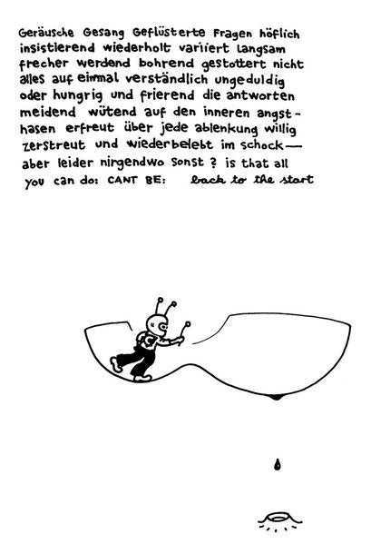 B as in back to start, arbeitsbegleitende gedankenskizze, copyright chantal labinski 2013