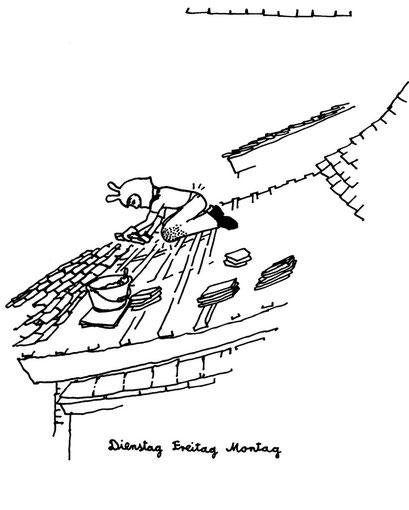 work roof, arbeitsbegleitende gedankenskizze, copyright chantal labinski 2013
