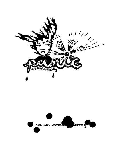 panic more, arbeitsbegleitende gedankenskizze, copyright chantal labinski 2013