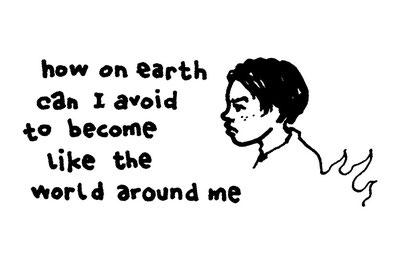 earth, arbeitsbegleitende gedankenskizze, copyright chantal labinski 2013