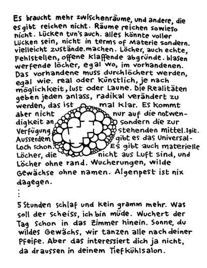 zwischenraum, arbeitsbegleitende gedankenskizze, copyright chantal labinski 2013
