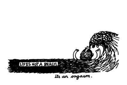 orgasm, arbeitsbegleitende gedankenskizze, copyright chantal labinski 2013