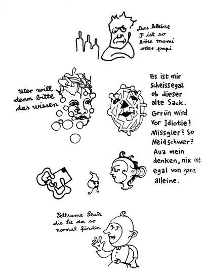 mamipapi, arbeitsbegleitende gedankenskizze, copyright chantal labinski 2013