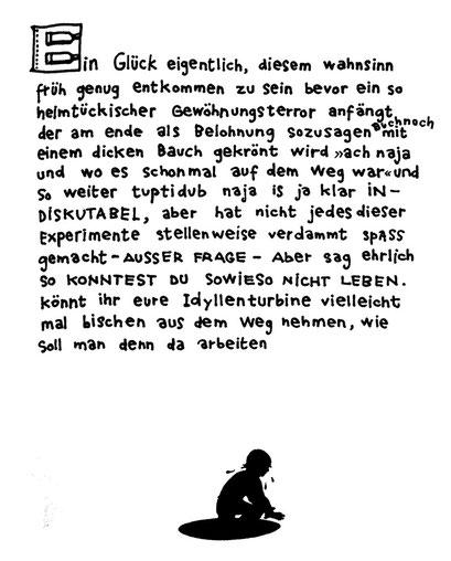 wahnsinn liebe, arbeitsbegleitende gedankenskizze, copyright chantal labinski 2013