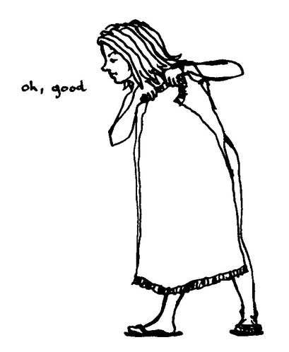 oh, good, arbeitsbegleitende gedankenskizze, copyright chantal labinski 2013