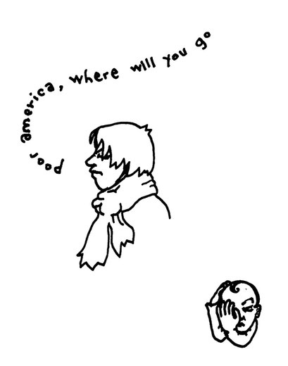 poor america, arbeitsbegleitende gedankenskizze, copyright chantal labinski 2013