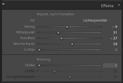 Effekte HDR Preset 2 für Lightroom