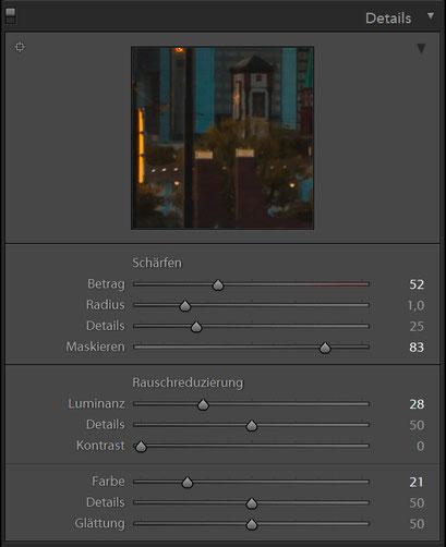 Details HDR Preset 1 für Lightroom