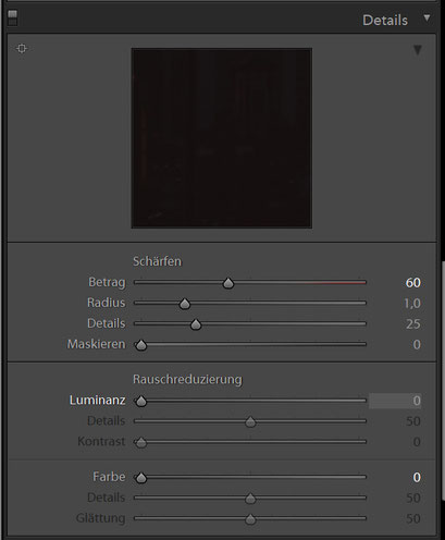 Details HDR Preset 2 für Lightroom