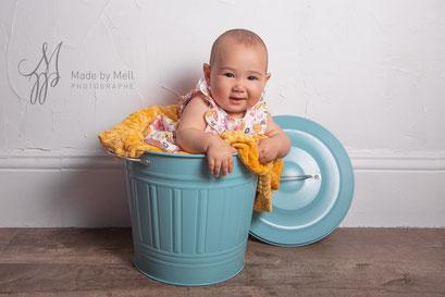 Séance photo nouveau-né bébé toulouse, photographe bébé toulouse, portrait bébé, photo bébé dans pot