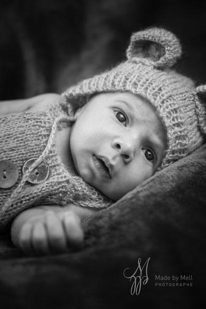 Séance photo nouveau-né toulouse, photographe bébé toulouse, photo bébé ours