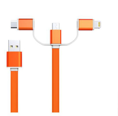 Smrter Hydra 3in1 Ladekabel orange
