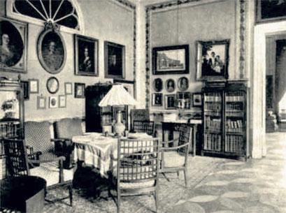 К концу прошлого века усадебный дом в «Петровском» по обилию и ценности скопившихся в нем произведений искусства являлся буквально музеем