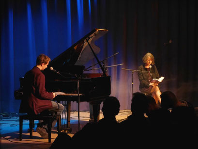"Theaterclub Hamburg - Auftritt ""Zeilenklang"""