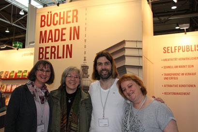 LBM - mit Kollegen Marion Schreiner, Wolf Stein u. Heike Lange
