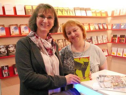 LBM - mit Katzenkrimi-Autorin Heike Lange