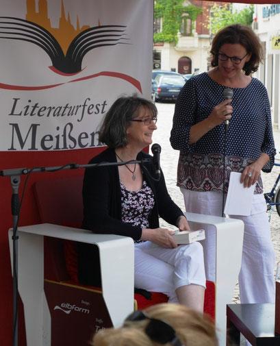 Literaturfest Meißen - Anmoderation Kulturverein Meißen