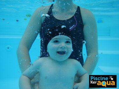 Rennes Piscine ker aqua bébés nageurs photo subaquatique