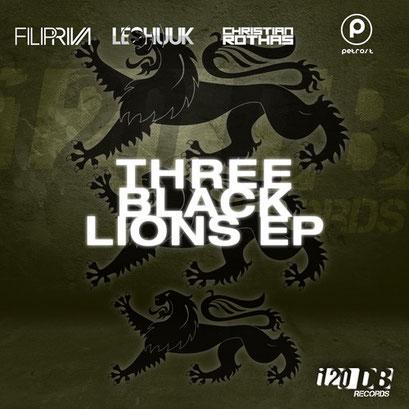 Filip Riva, Les Shuuk & Petros T., Christian Rothas - Three Black Lions EP