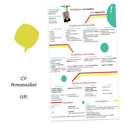 CV personnalisé - (Client 58)