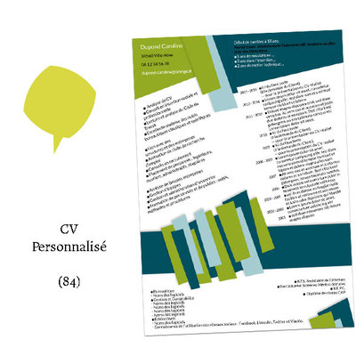 CV personnalisé - (Cliente 84)