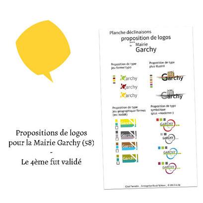Propositions de logos pour la Mairie de Garchy (58)