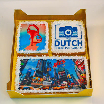 Dutch Creative Group bedrijfslogo koekjes