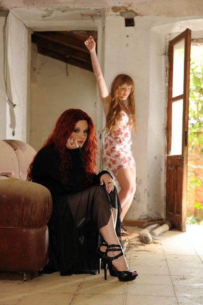Model Chiar e Francesca Cardia