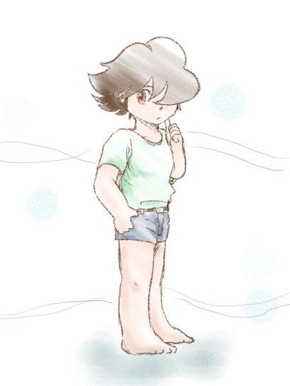 夏の少年しまむらさん 8/25