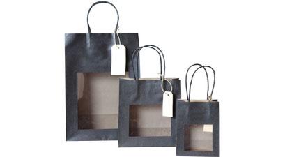 Taschen mit Sichtfenster ab 100 Stück kaufen