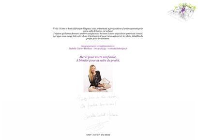 références Isabelle Cachet Harlaux - Intérieur Solutions Design