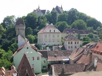 Burgberg in Draculas Geburtsstadt.