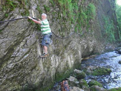 Abenteuer am Flussbett