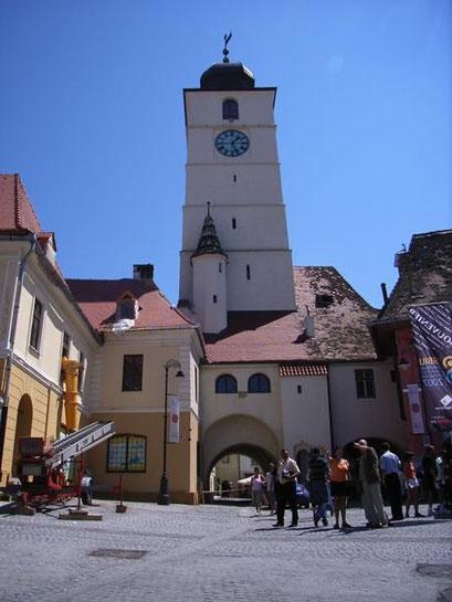 Ratturm: Wahrzeichen der pulsierenden Metropol Sibiu