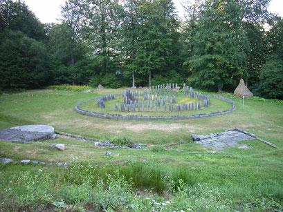 Stonehenge auf Rumänisch (antike Daker-Ruinen)