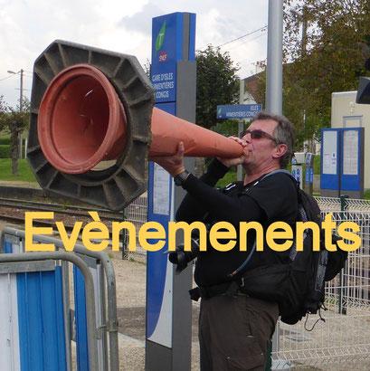 Evènements (AG, Anniversaire, etc...)