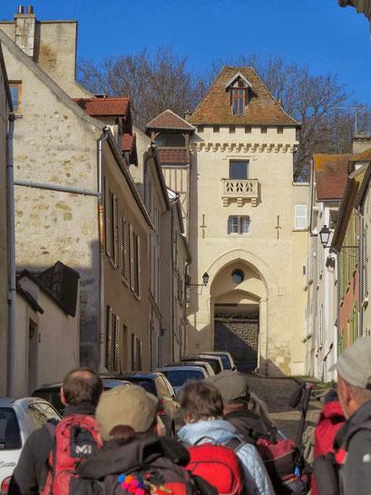 Sur les traces des Pèlerins - Autour de Pontoise - 1 déc. 2013