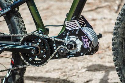 Reseñas de motores de rueda de bicicleta