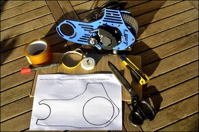 lift prestazioni del kit per bici elettrica