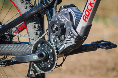 motore elettrico adattabile mountain bike